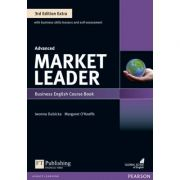 Market Leader Extra Advanced Course Book with DVD + MyEnglishLab, 3rd Edition - Margaret O'Keeffe
