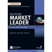 Market Leader Extra Upper Intermediate Course Book with DVD-Rom + MyEnglishLab, 3rd Edition - David Cotton
