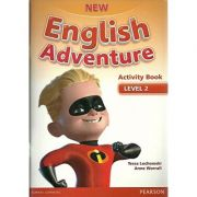 New English Adventure 2 Activity Book + Song CD Pack - Tessa Lochowski, Anne Worrall