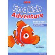 New English Adventure Starter A Pupil´s book + DVD - Regina Raczynska, Cristiana Bruni