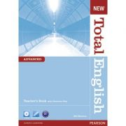 New Total English Advanced Teacher's Book - Will Moreton
