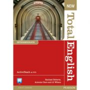 New Total English Intermediate Active Teach - Rachael Roberts, Antonia Clare, J. J. Wilson