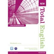 New Total English Pre-Intermediate Workbook with Key and Audio CD Pack - Antonia Clare, J. J. Wilson, Will Moreton
