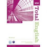 New Total English Pre-Intermediate Workbook without Key and Audio CD Pack - Antonia Clare, J. J. Wilson, Will Moreton