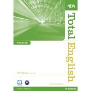 New Total English Starter Workbook with Key and Audio CD Pack - Jonathan Bygrave