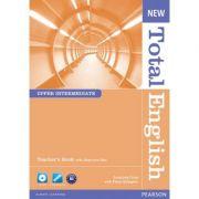 New Total English Upper Intermediate Teacher's Book and Teacher's Resource CD Pack - Araminta Crace, Fiona Gallgher