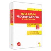 Noul Cod de procedura fiscala si ordinele conexe