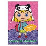Pentru fetite. Carte de colorat