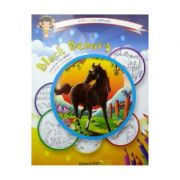 Black Beauty: carte de colorat + poveste. Carla coloreaza