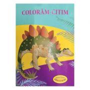 Coloram-citim: Stegozaur. Dinozauri