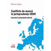 Conflicte de munca in jurisprudenta CEDO. Comentarii si jurisprudenta nationala - Razvan Anghel
