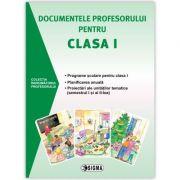 Documentele profesorului pentru clasa I (2015-2016). Programe scolare pentru clasa I, planificare anuala, proiectari ale unitatilor tematice