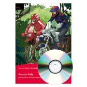 English Active Readers Level 1. Amazon Rally Book + CD - Eduardo Amos, Elisabeth Prescher