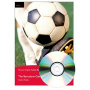 English Active Readers Level 1. Barcelona Game Book + CD - Stephen Rabley