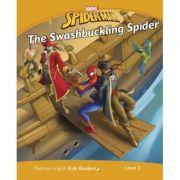 English Kids Readers Level 3 Marvel Spider-Man. The Swashbuckling Spider - Marie Crook