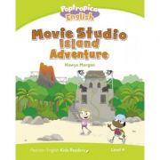 English Kids Readers Level 4: Poptropica English. Movie Studio Island Adventure - Hawys Morgan