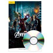 English Readers Level 2 Marvel. The Avengers Book + CD - Jocelyn Potter