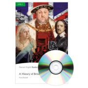 English Readers Level 3. A History of Britain Book + CD - Fiona Beddall