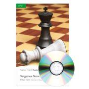 English Readers Level 3. Dangerous Game Book + CD - William Harris