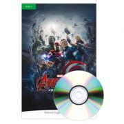 English Readers Level 3 Marvel The Avengers. Age of Ultron Book + CD - Kathy Burke