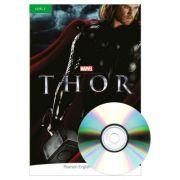 English Readers Level 3. Marvel Thor Book + CD - Andrew Hopkins
