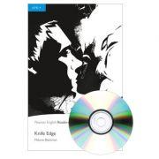 English Readers Level 4. Knife Edge Book + CD - Malorie Blackman