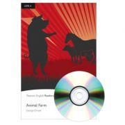English Readers Level 6. Animal Farm Book + CD - George Orwell