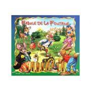 Fabule de La Fontaine - Carte ilustrata