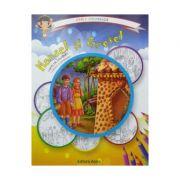 Hansel si Gretel: carte de colorat + poveste. Carla coloreaza