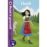 Heidi - Read it yourself with Ladybird. Level 4 - Tamsin Hinrichsen