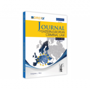 Journal Of Eastern European Criminal Law Issue 2/2019