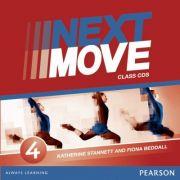 Next Move Level 4 Class Audio CDs - Katherine Stannett, Fiona Beddall