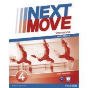Next Move Level 4 Workbook & MP3 Audio Pack - Bess Bradfield
