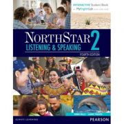 NorthStar Listening and Speaking 2 Student Book with Interactive Student Book and MyEnglishLab - Laurie L. Frazier, Robin Mills