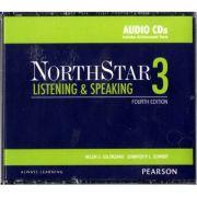 NorthStar Listening and Speaking 3 Classroom AudioCDs - Helen S Solorzano, Jennifer Schmidt