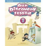 Our Discovery Island Level 5 Activity Book with CD-ROM