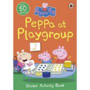 Peppa at Playgroup Sticker Activity Book - Peppa Pig