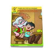 Pinocchio. Carte de colorat si citit
