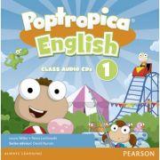 Poptropica English American Edition 1 Audio CD