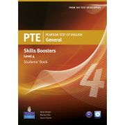 PTE General Skills Booster Level 4 Student Book with Audio CD - Susan Davies, Martyn Ellis