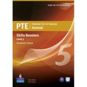 PTE General Skills Booster Level 5 Student Book with Audio CD - Steve Baxter, John Murphy