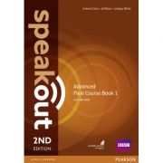 Speakout 2nd Edition Advanced Flexi Coursebook 1 Pack - Antonia Clare