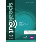 Speakout 2nd Edition Starter Coursebook with DVD Rom and MyEnglishLab - Steve Oakes