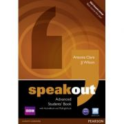 Speakout Advanced Students' Book with DVD/Active Book and MyLab Pack - J J Wilson