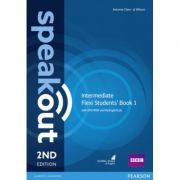 Speakout Intermediate 2nd Edition Flexi Students' Book 1 with MyEnglishLab Pack - Antonia Clare