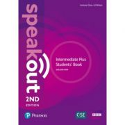 Speakout Intermediate Plus 2nd Edition Student's Book with DVD-ROM and MyEnglishLab Pack - Antonia Clare