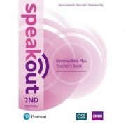 Speakout Intermediate Plus 2nd Edition Teacher's Guide with Resource & Assessment Disc Pack - Kate Leigh