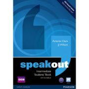 Speakout Intermediate Students' Book with DVD / Active Book - J J Wilson