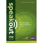 Speakout Pre-Intermediate 2nd Edition Flexi Coursebook 2 Pack - J J Wilson