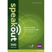 Speakout Pre-Intermediate 2nd Edition Flexi Students' Book 2 Pack - J J Wilson